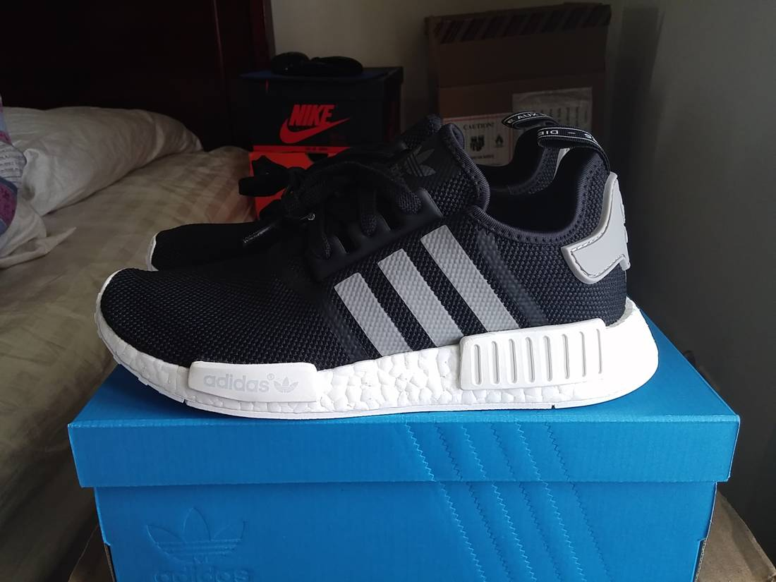 Adidas Adidas NMD R1 Runner R1 R1 Black NMD/ R1 Charcoal US9 Size 9 for c461a21 - hotlink.pw