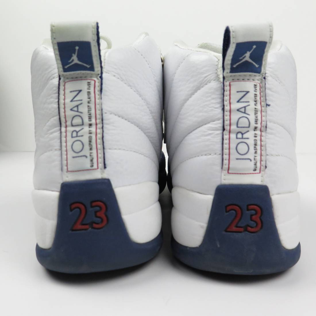 the best attitude 50617 81c51 purchase nike 2004 nike air jordan xii 12 retro french blue white silver red  136001 141