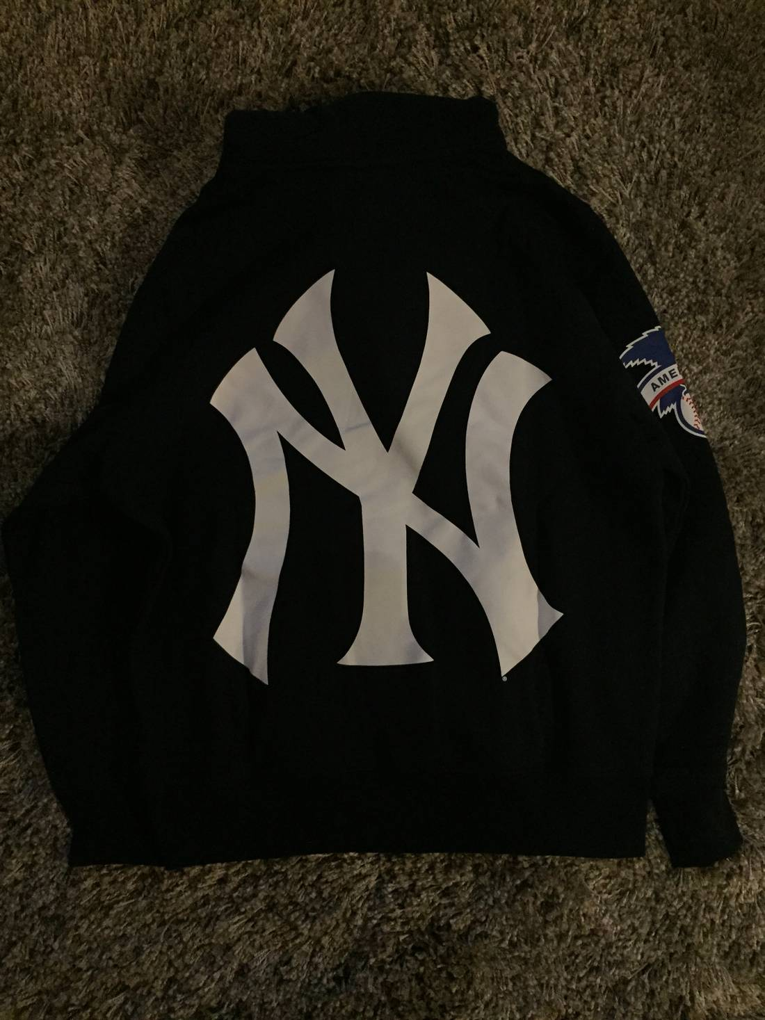 Supreme yankees hoodie navy m size m sweatshirts hoodies for supreme yankees hoodie navy m size us m eu 48 50 2 biocorpaavc Images
