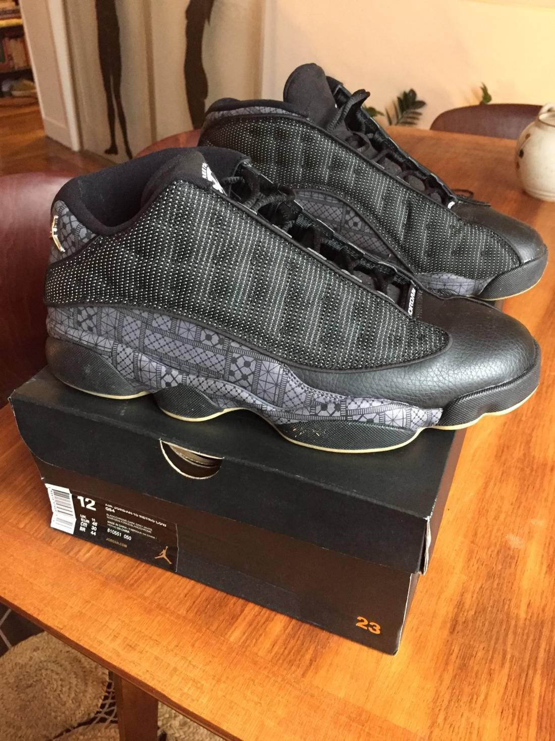 cheap for discount b4eee a6374 closeout jordan brand air jordan xiii 13 quai 54 special anniversary  edition size us 12 b06b9