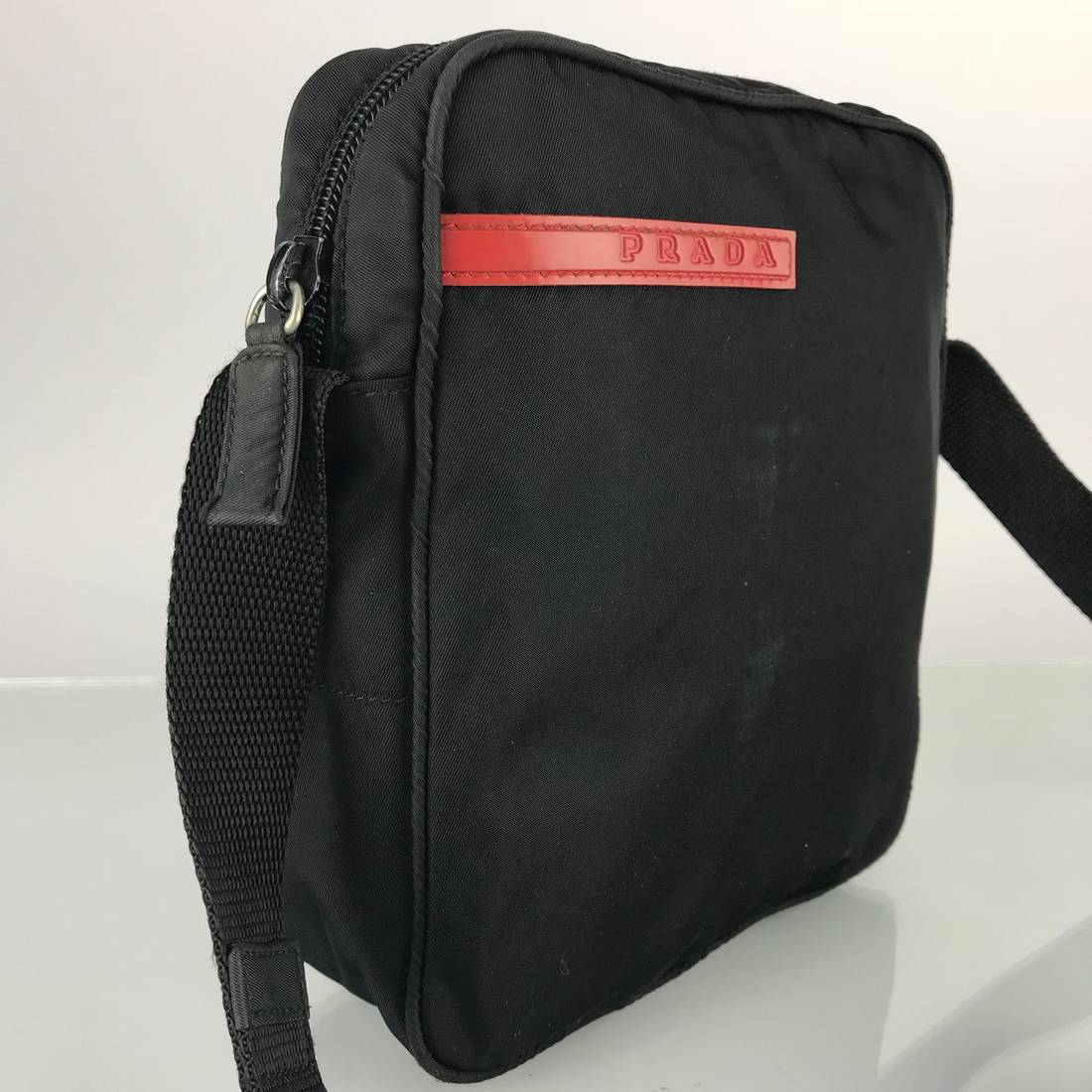 04d1e3bb02fa ... denmark prada authentic prada sport black nylon crossbody bag size one  size 4 3f9ff 22fc3