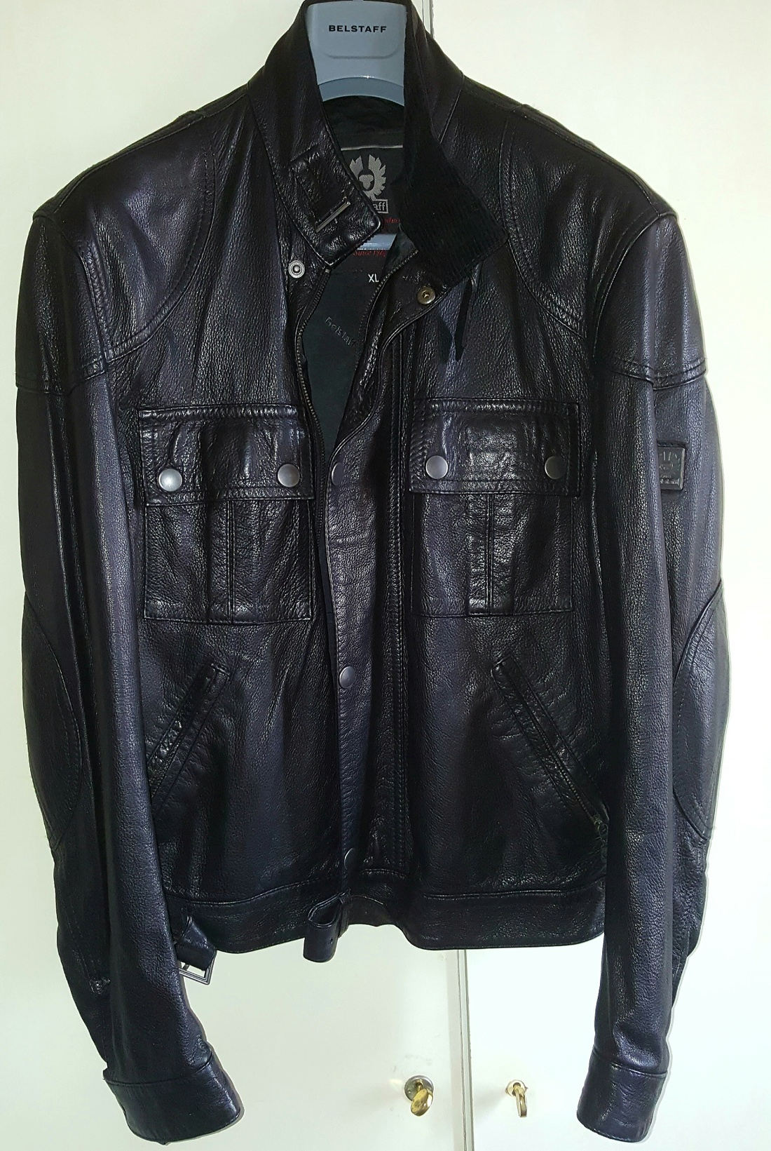Leather jacket xl size - Belstaff Belstaff Gold Label Cougar Leather Jacket Xl Size Us Xl Eu 56 4