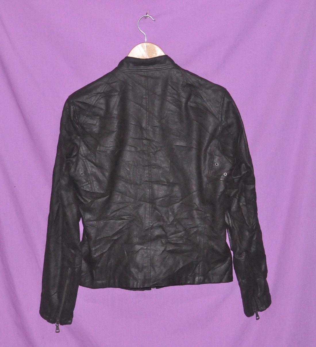 Leather jacket uniqlo -  Uniqlo Uniqlo Leather Jacket Size Us S Eu 44 46 1 4