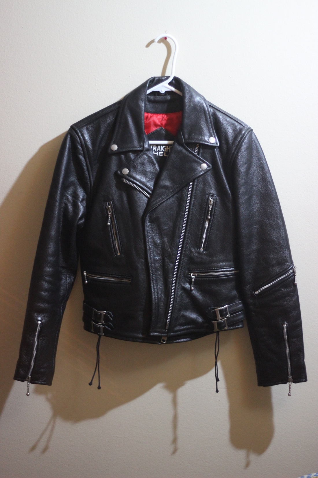 Leather jacket xs - Straight To Hell Defector Leather Jacket Size Us Xs Eu 42 0