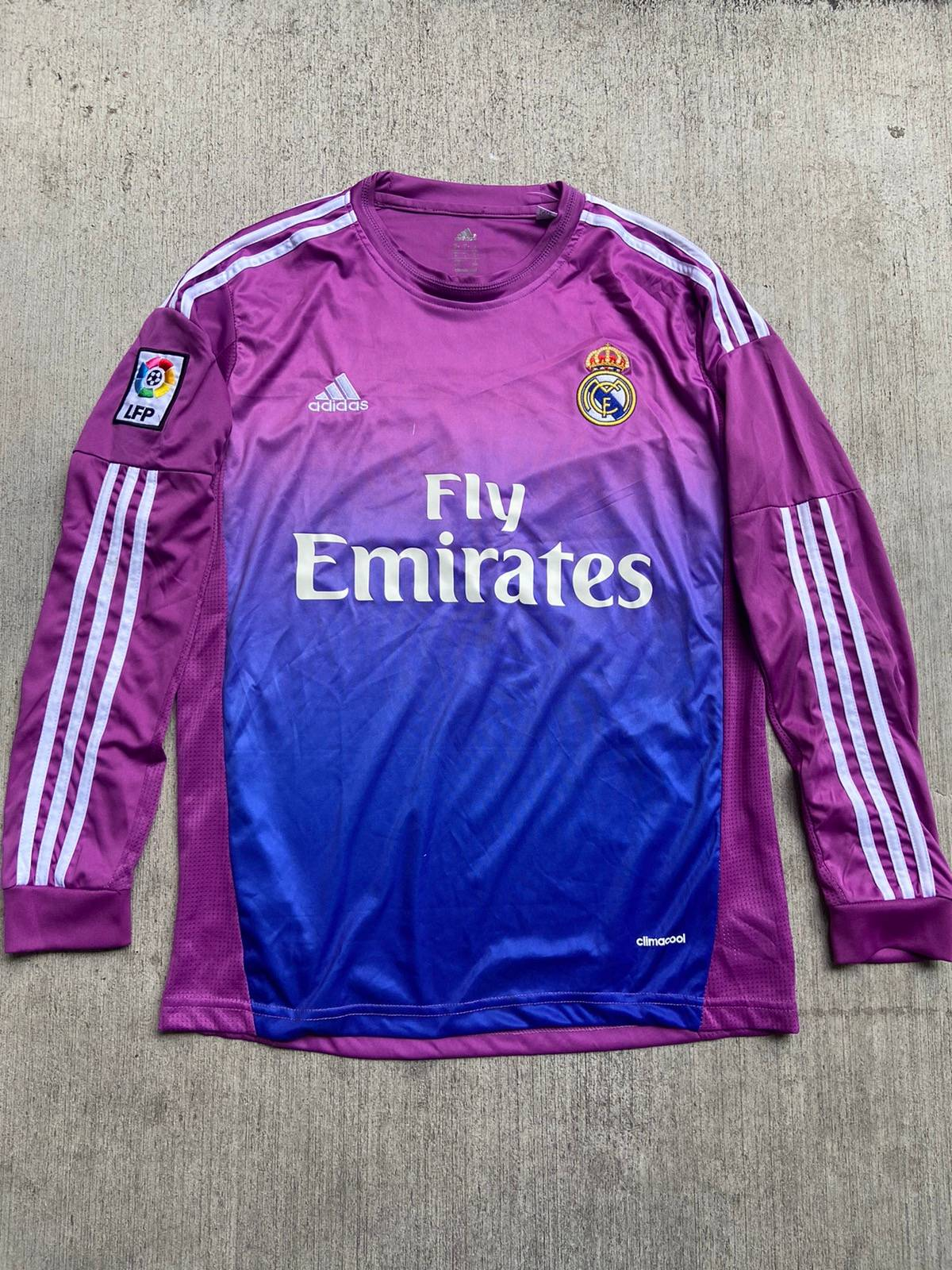 Adidas 2013 Casillas Real Madrid Goal Keeper Purple Soccer ...