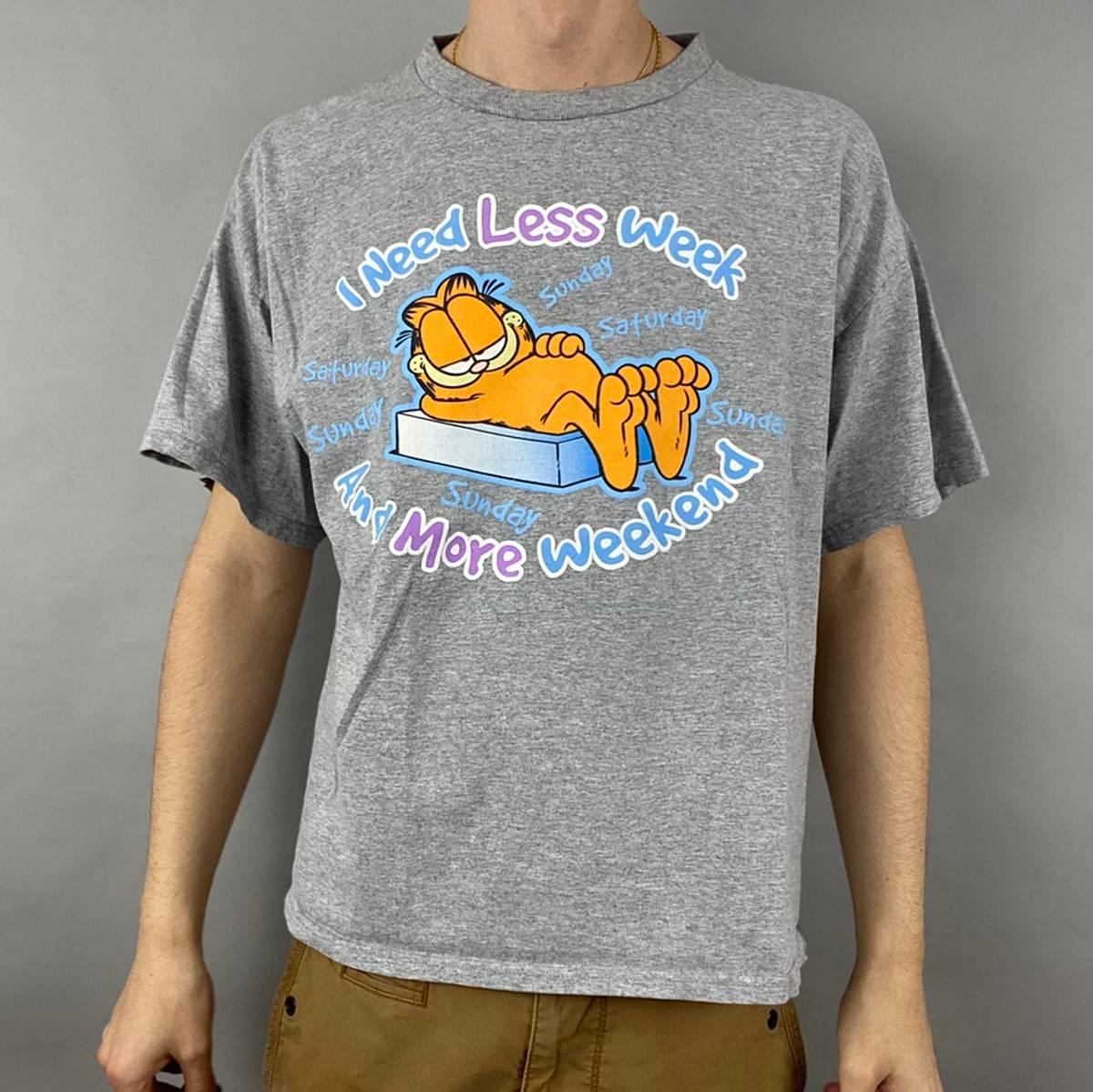 Vintage Vintage Garfield Shirt Size Medium Grailed