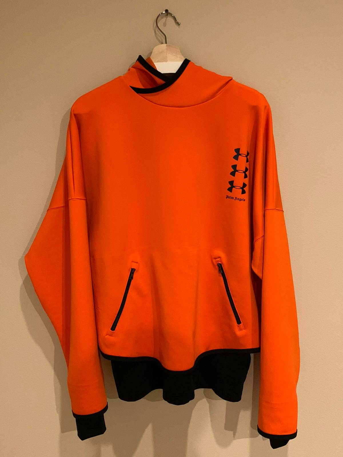 alabanza perdón no pueden ver  Palm Angels Palm Angels X Under Armour Orange Hoodie Sweatshirt. Nwt |  Grailed