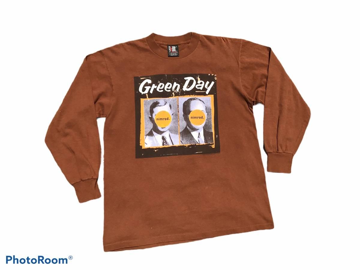 Vintage 90s greenday longsleeve band nimrod by giants  vintage greenday band longsleeve shirt !!