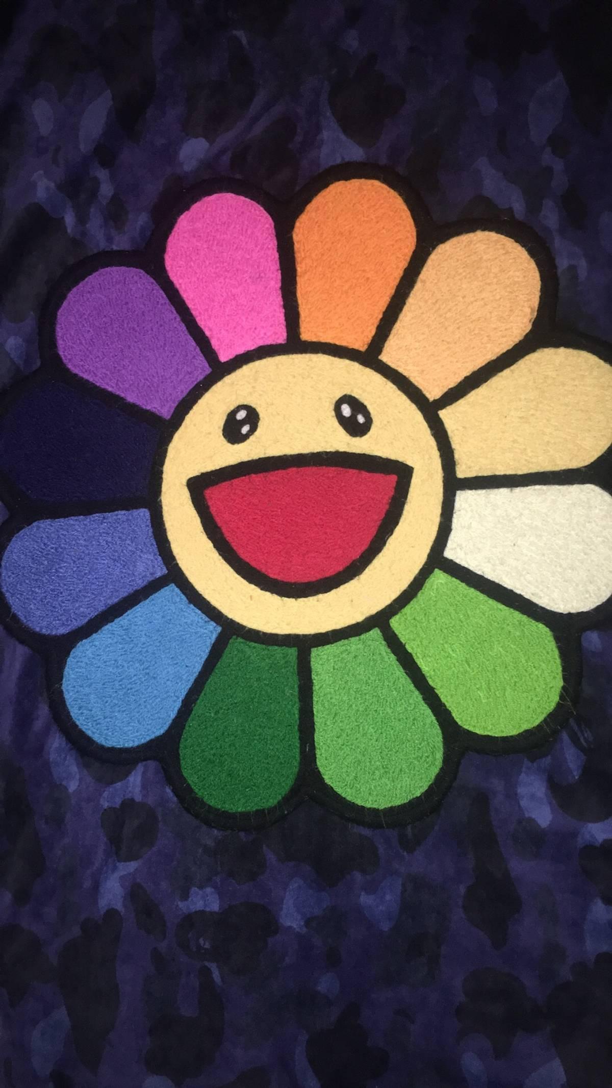 Takashi Murakami Only 1 Online Murakami Flower Rug Carpet Mat Kaikai Kiki Grailed