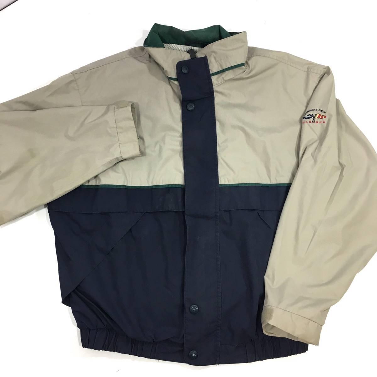 Members Only mens Nautical Colorblock Windbreaker Jacket