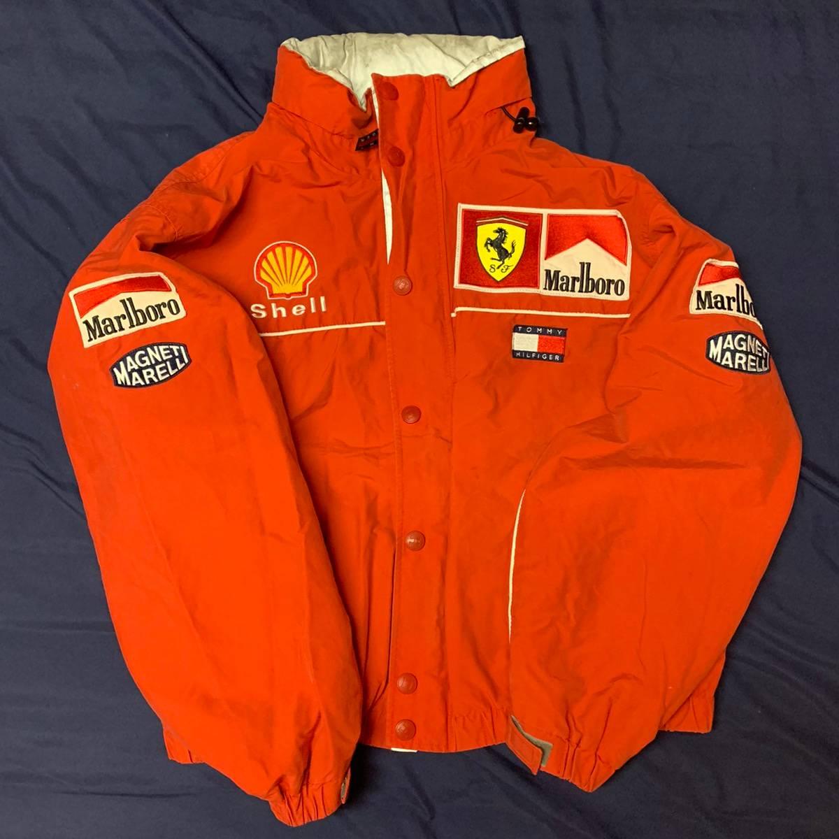 Tommy Hilfiger Ferrari F1 Racing Jacket By Tommy Hilfiger Grailed