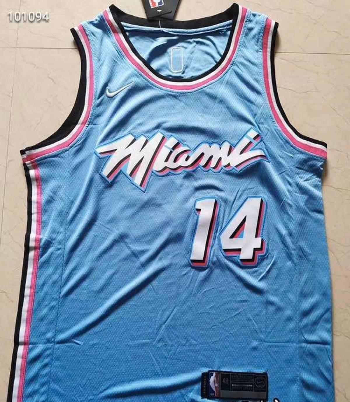 Nike Tyler Herro Miami Heat Vice City Jersey Grailed