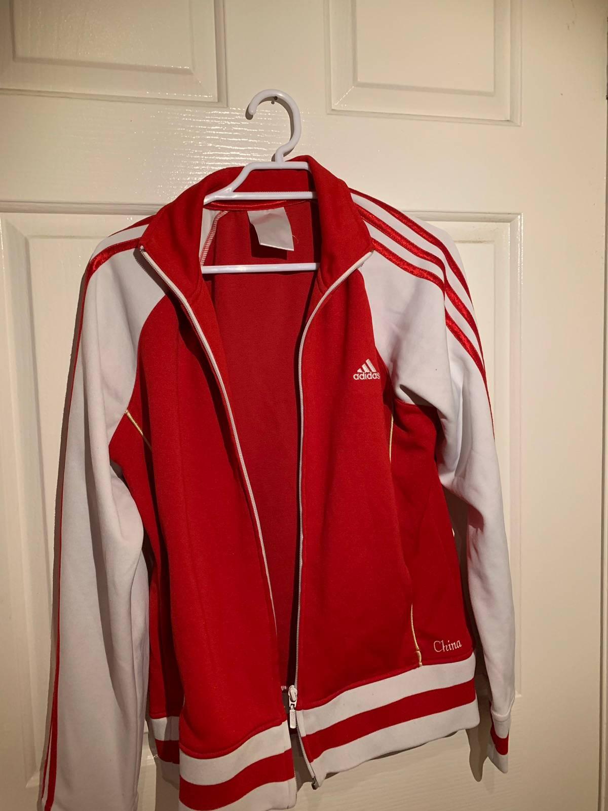 Falange Se convierte en Dar derechos  Adidas Vintage Adidas Red China Jacket | Grailed