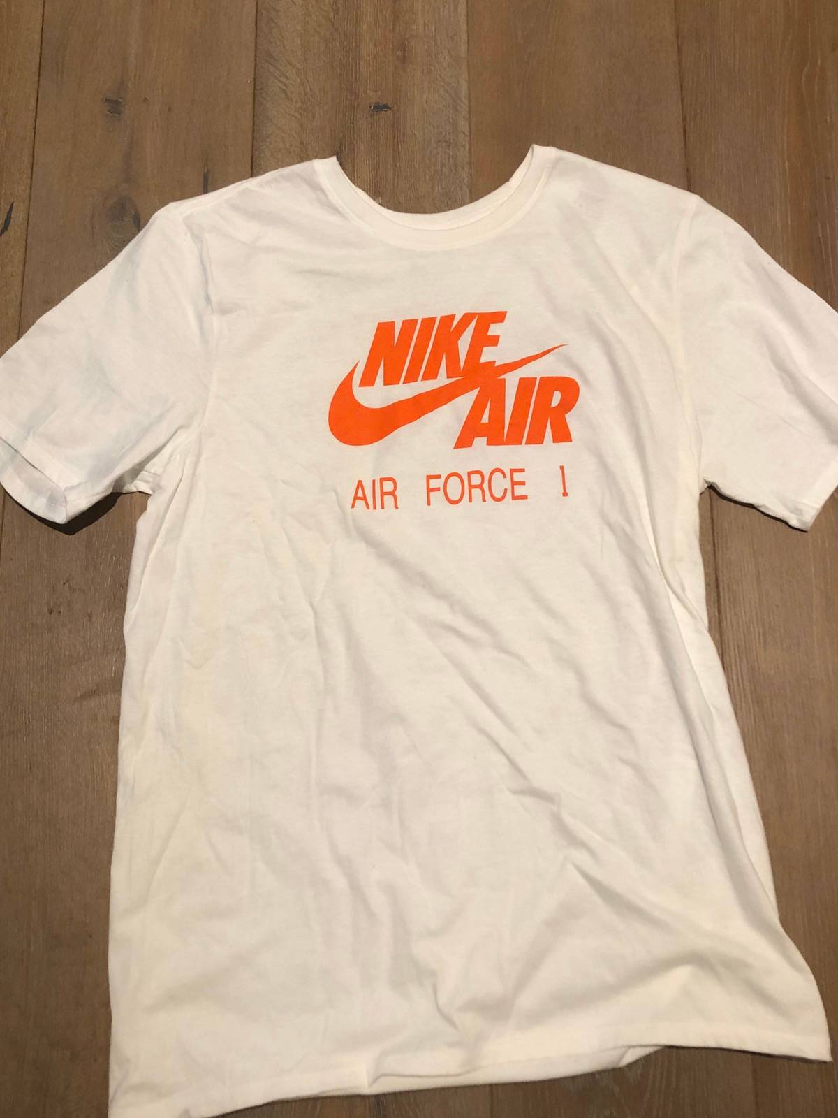 mirada detallada Moda super barato se compara con Nike Nike Air Force 1 X Travis Scott T-shirt   Grailed