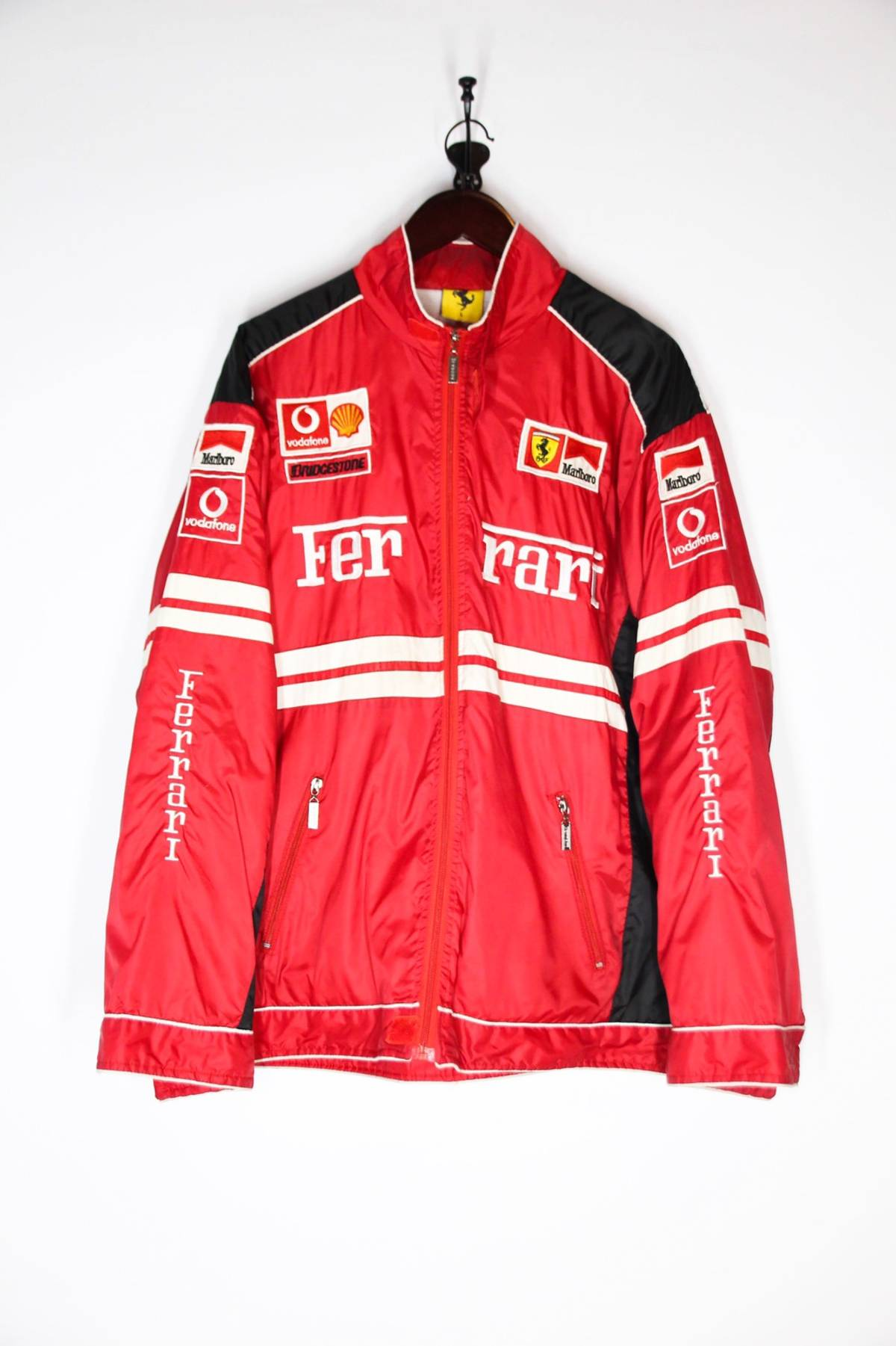 Marlboro Vintage Ferrari F1 Racing Jacket Michael Schumacher Marlboro Grailed