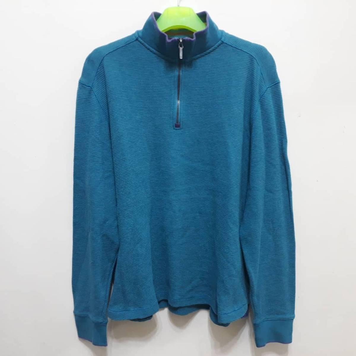 Robert Graham Robert Graham Sweater Shirt Pullover 1 4 Zip Tops Fashion Brand Designer Jumper Classic Fit Waffle Cotton Authentic Grailed