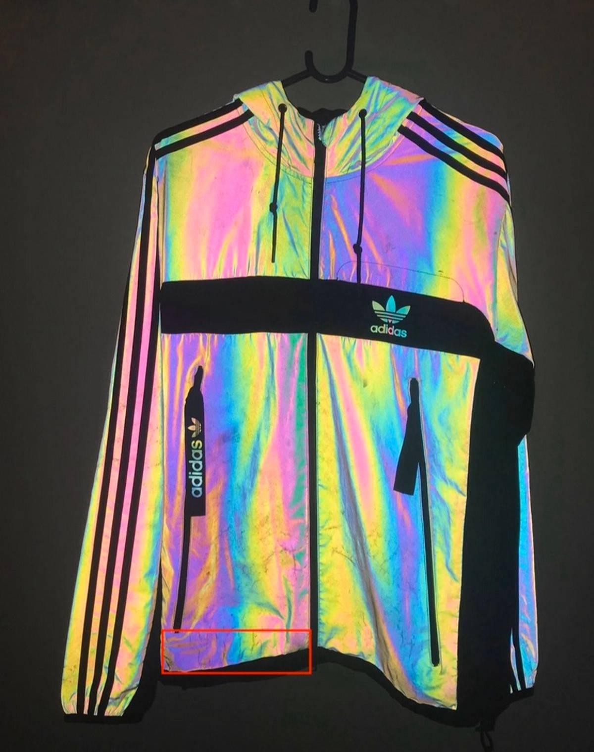Bebé Interrupción Separación  Adidas Adidas Xeno 3m Reflective Bomber Jacket Coat | Grailed
