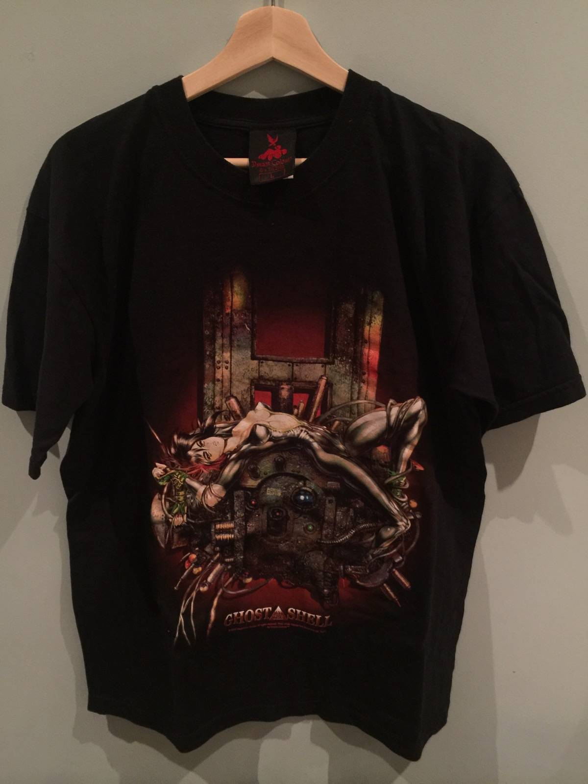Vintage Vintage Ghost In The Shell Anime 2001 Official Dream Colours Shirt Grailed