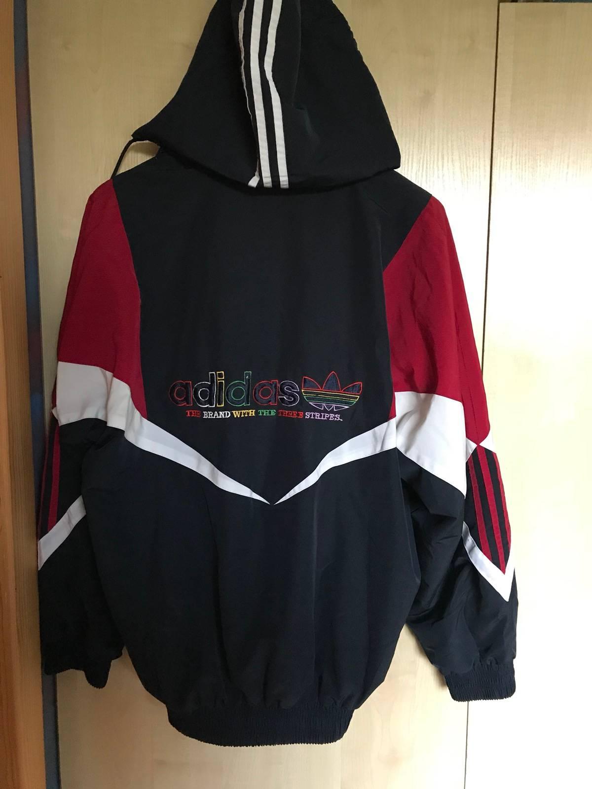 directorio magia Para aumentar  Adidas Vintage Rasta Caribbean Bob Marley Color Red Black Striped 3 Stripes Adidas  Jacket 90s | Grailed