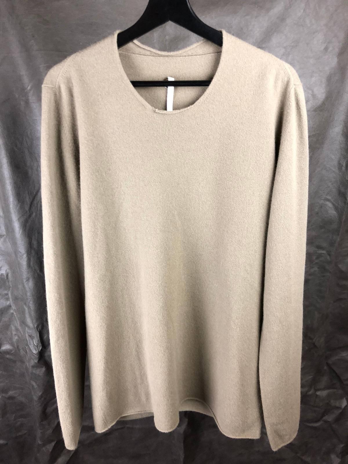 Label Under Construction New! Wool Angora Sweater Size L $450