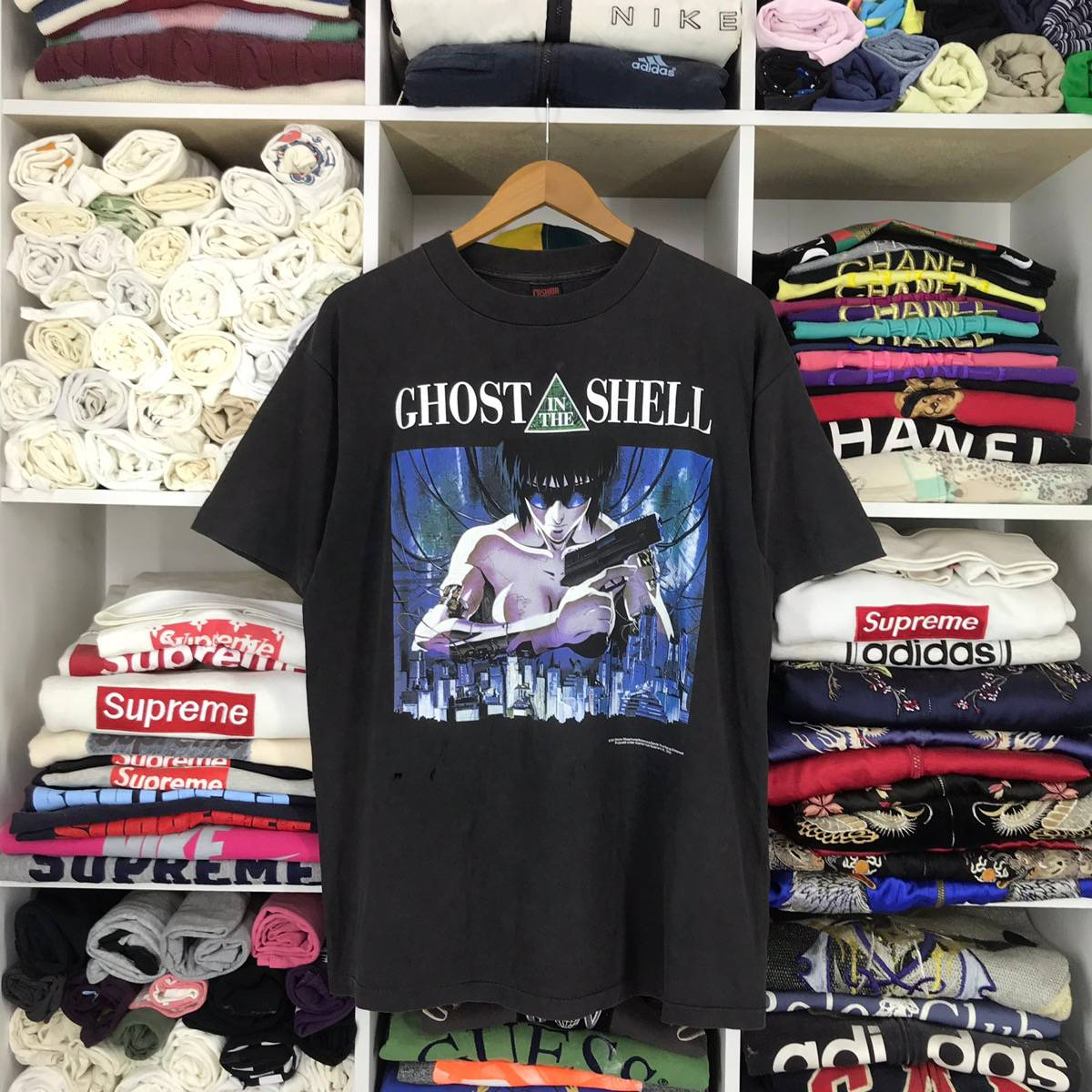 Vintage Vintage Ghost In The Shell 1995 Anime Bandai T Shirt Grailed