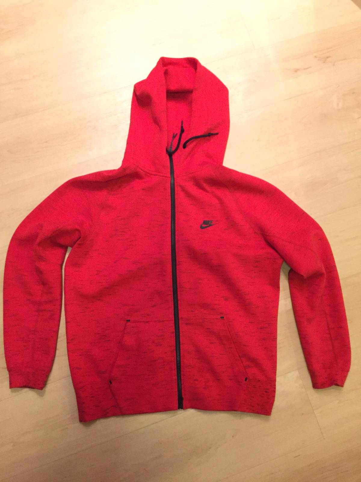 Nike Nike Tech Fleece Hoodie Red Size Large Grailed