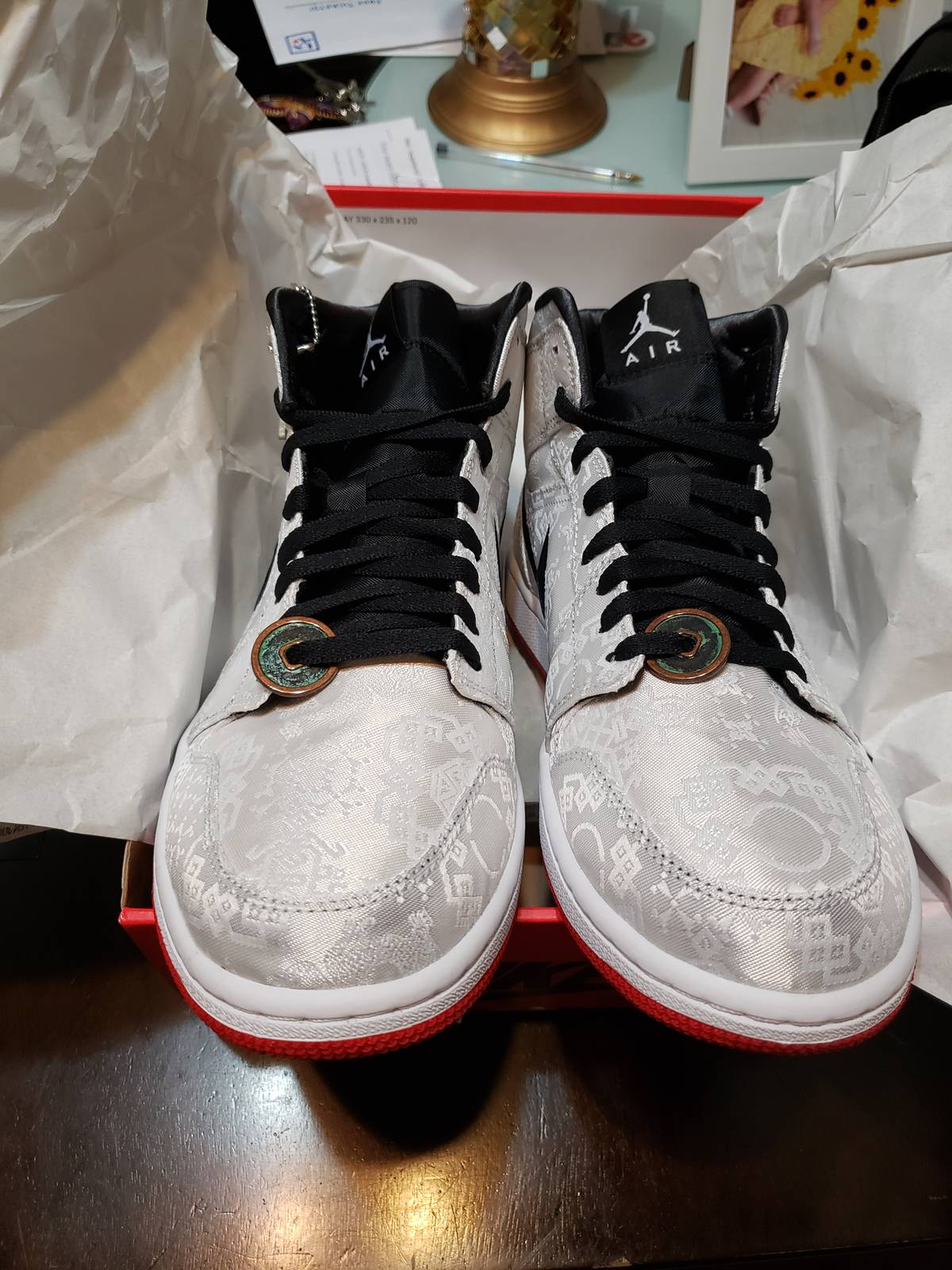 Clot × Jordan Brand × Nike Air Jordan 1 Mid Se Frls Gc Size 10.5 $424