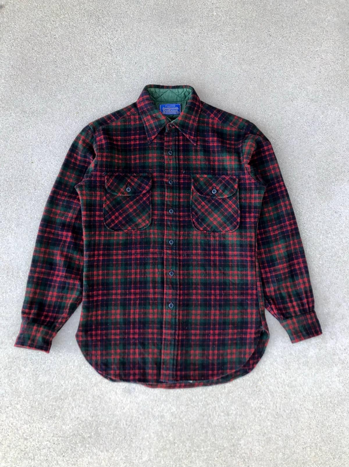80s Pendleton Shirt  L  Light Weight  1980s  Plaid  Shadow Plaid  1980s Pendleton Shirt  Vintage Pendleton  Wool Shirt  80s Shirt