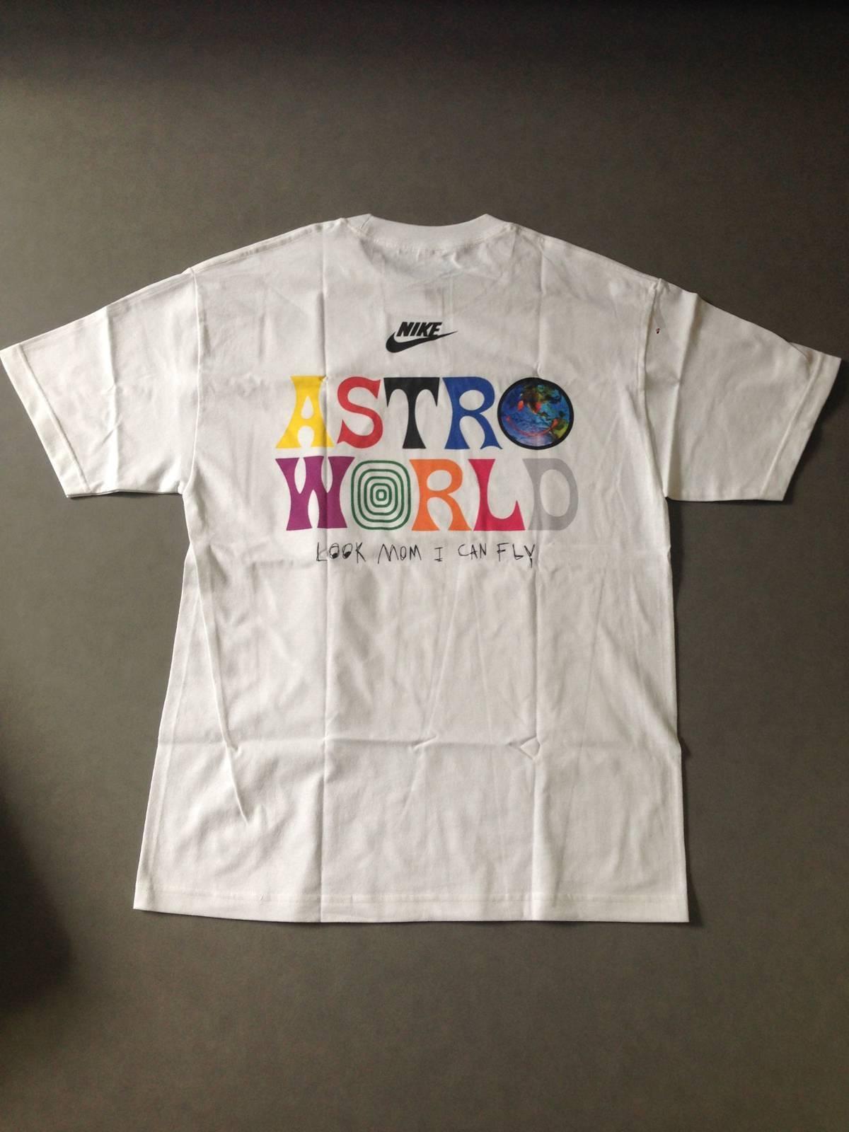 formar triatlón Intento  Nike Astroworld Nike Travis Scott Multicolor Tee | Grailed