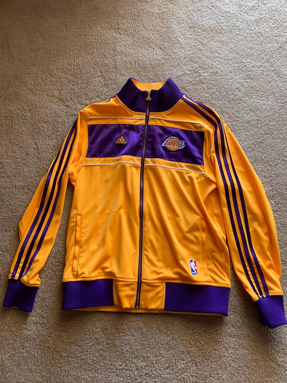 Adidas Los Angeles Lakers Nba Championship Ring Ceremony Jacket Grailed