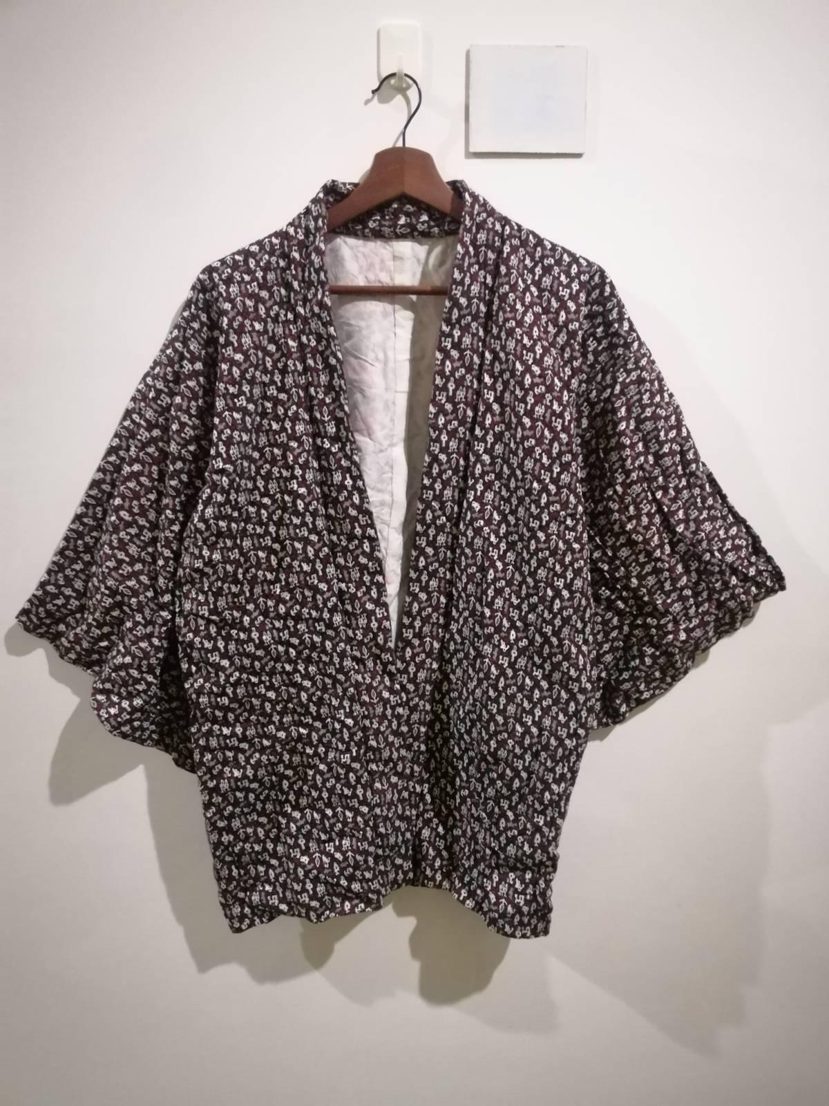 FREE SHIPPING Everywhere Vintage Noragi Kimono Haori Hanten Jinbei Japanese   Cardigan Happi Jacket B560 Pattern