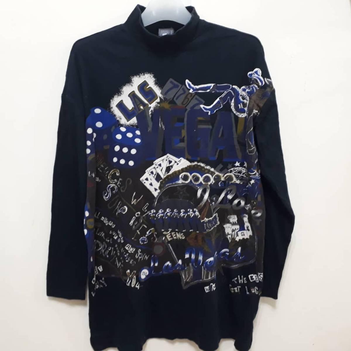 Designer Tokuko 1er Vol Long Sleeve T Shirt High Neck Tokuyuki Maeda Japanese Tops Fashion Designer Las Vegas Art Sz 9 Good Condition Grailed