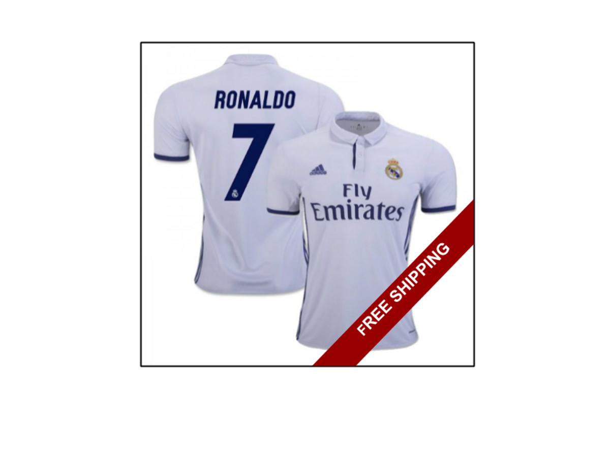 Real Madrid Real Madrid Home Kit 2016 2017 Grailed