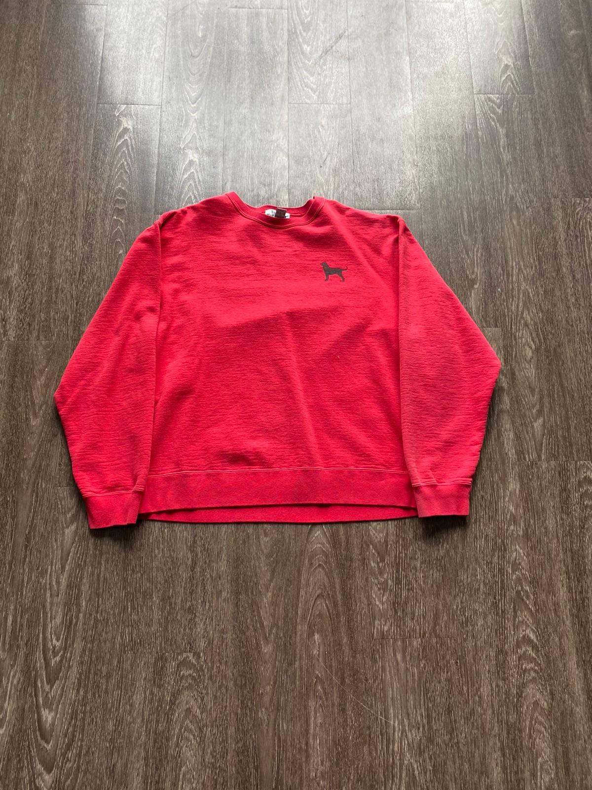 90/'s Black Dog Sweatshirt  UK 10
