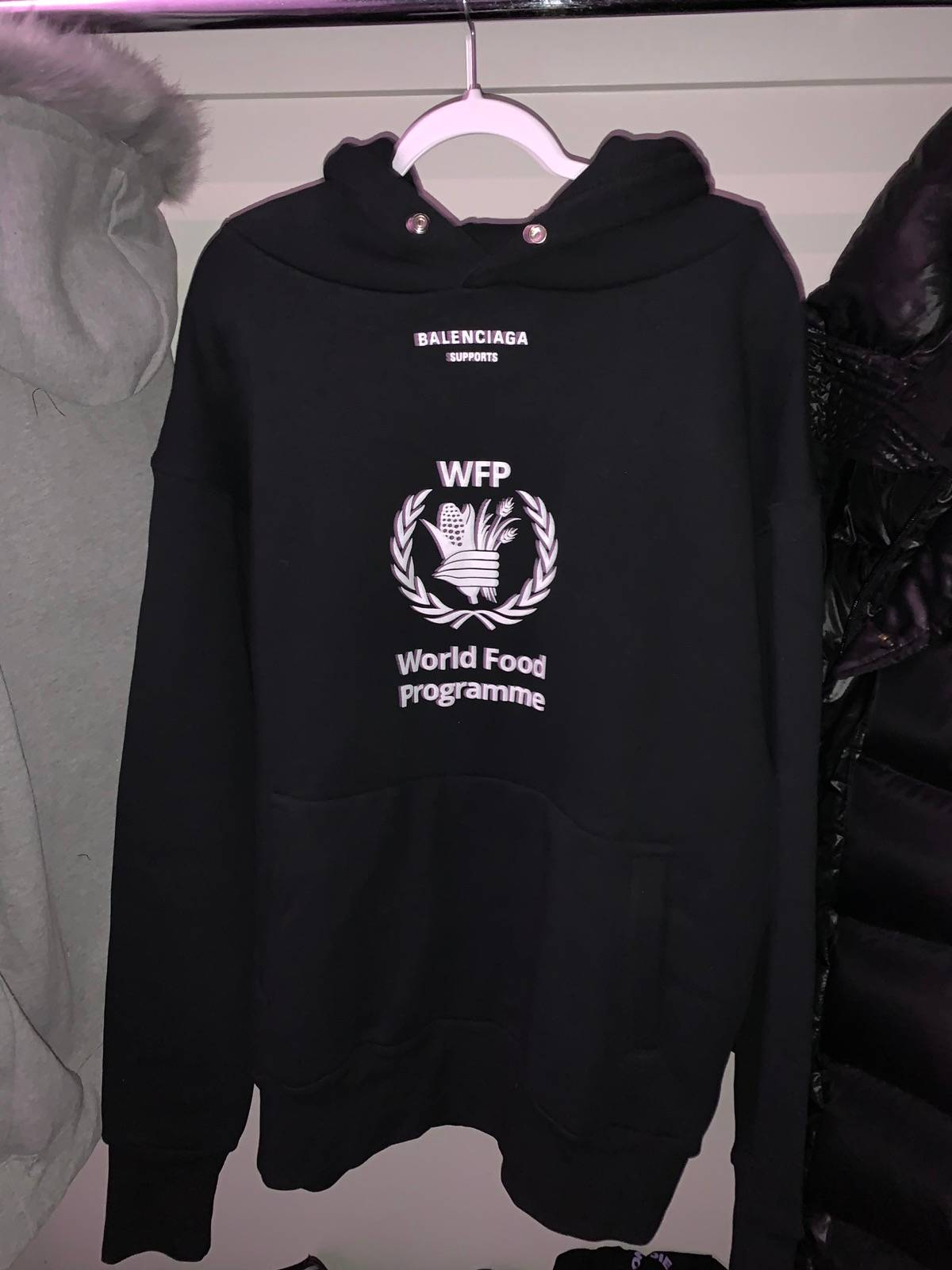 Balenciaga Balenciaga World Food Programme Hoodie Grailed