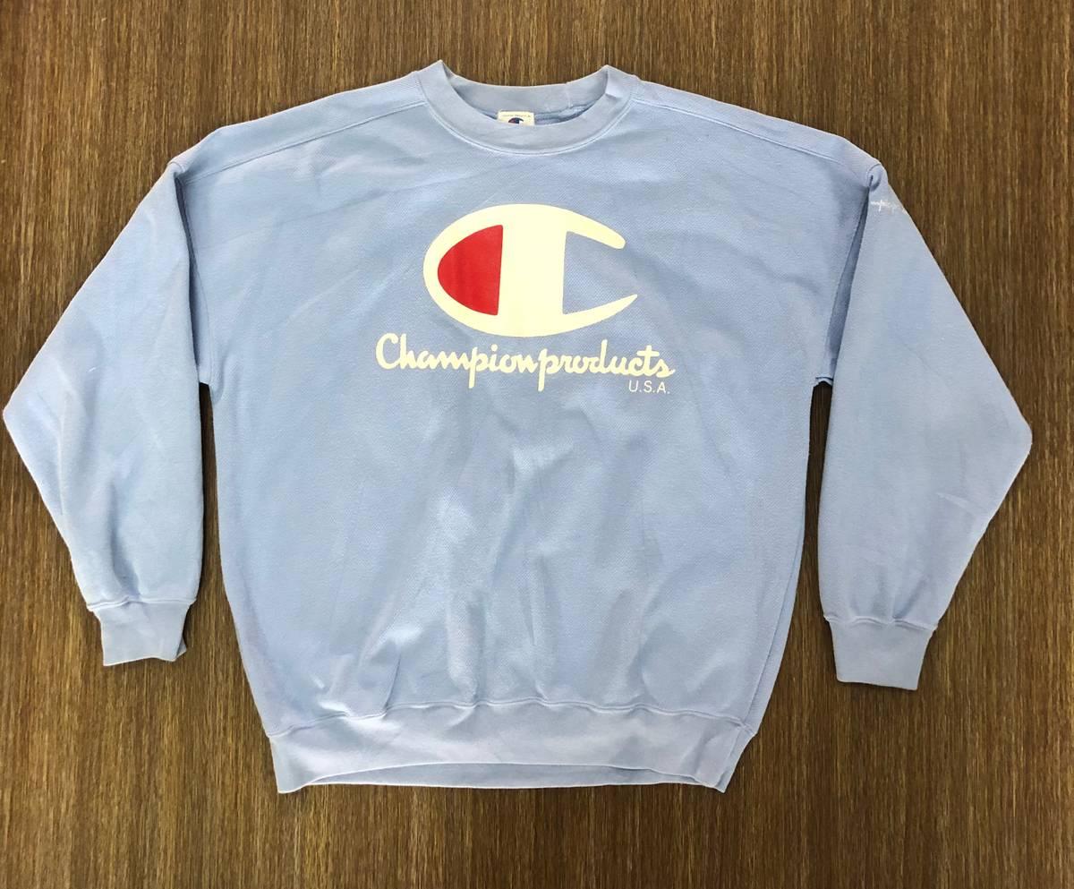 Rare!!Vintage Champion Sweatshirt Premium Weave Big logo basic logo hiphop skaterboard swag thug life streetwear vintage men clothing