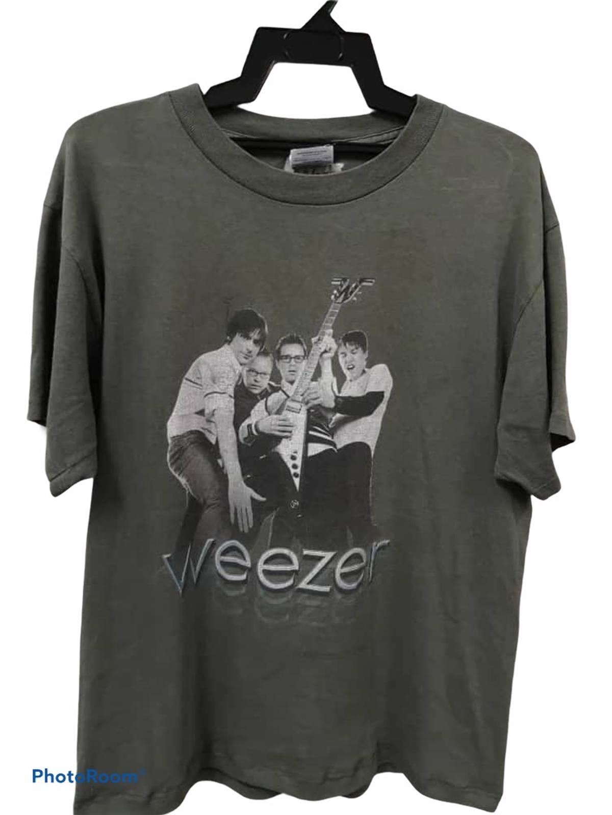 Vintage \u00d7 Band Tees \u00d7 Rock Tees Vintage Weezer Promo Band Shirts
