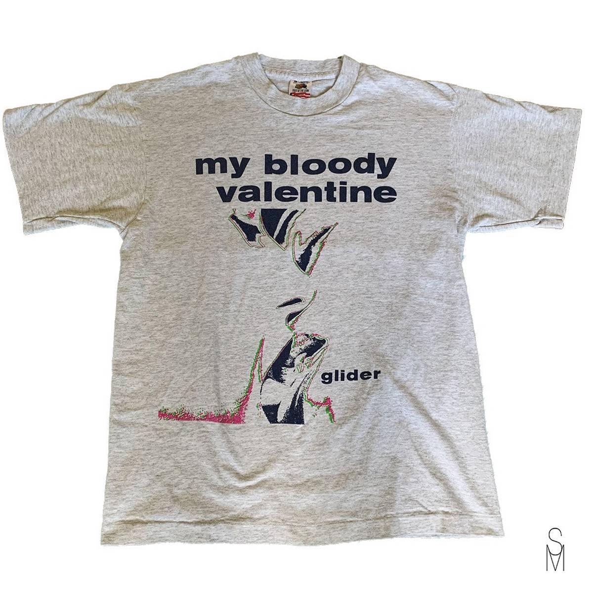 vintage slip M Bloody
