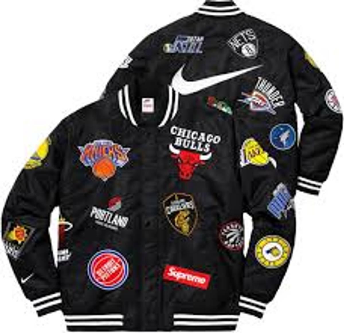 versus Sociedad insecto  Supreme Supreme Nike/nba Teams Warmup Jacket Black | Grailed