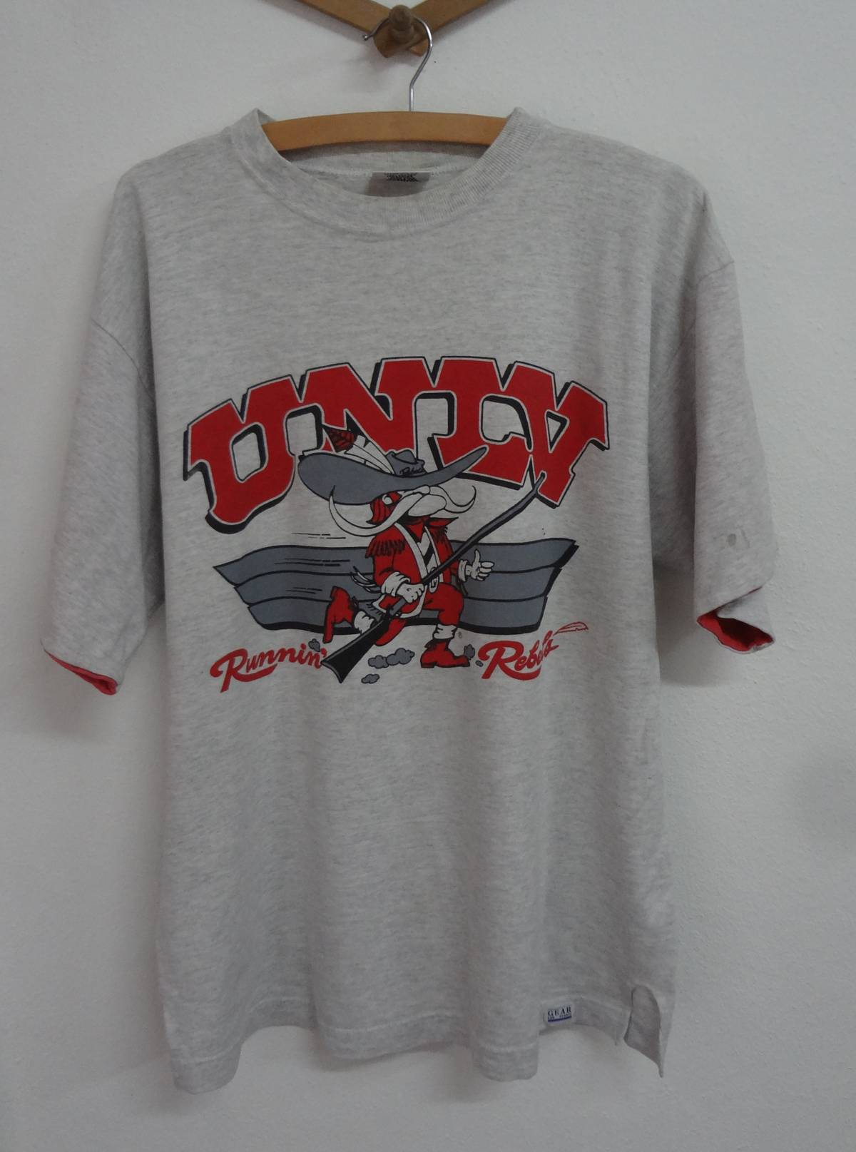 Ouray Sportswear NCAA UNLV Rebels Youth Vintage Sheer TeeYouth Vintage Sheer Tee