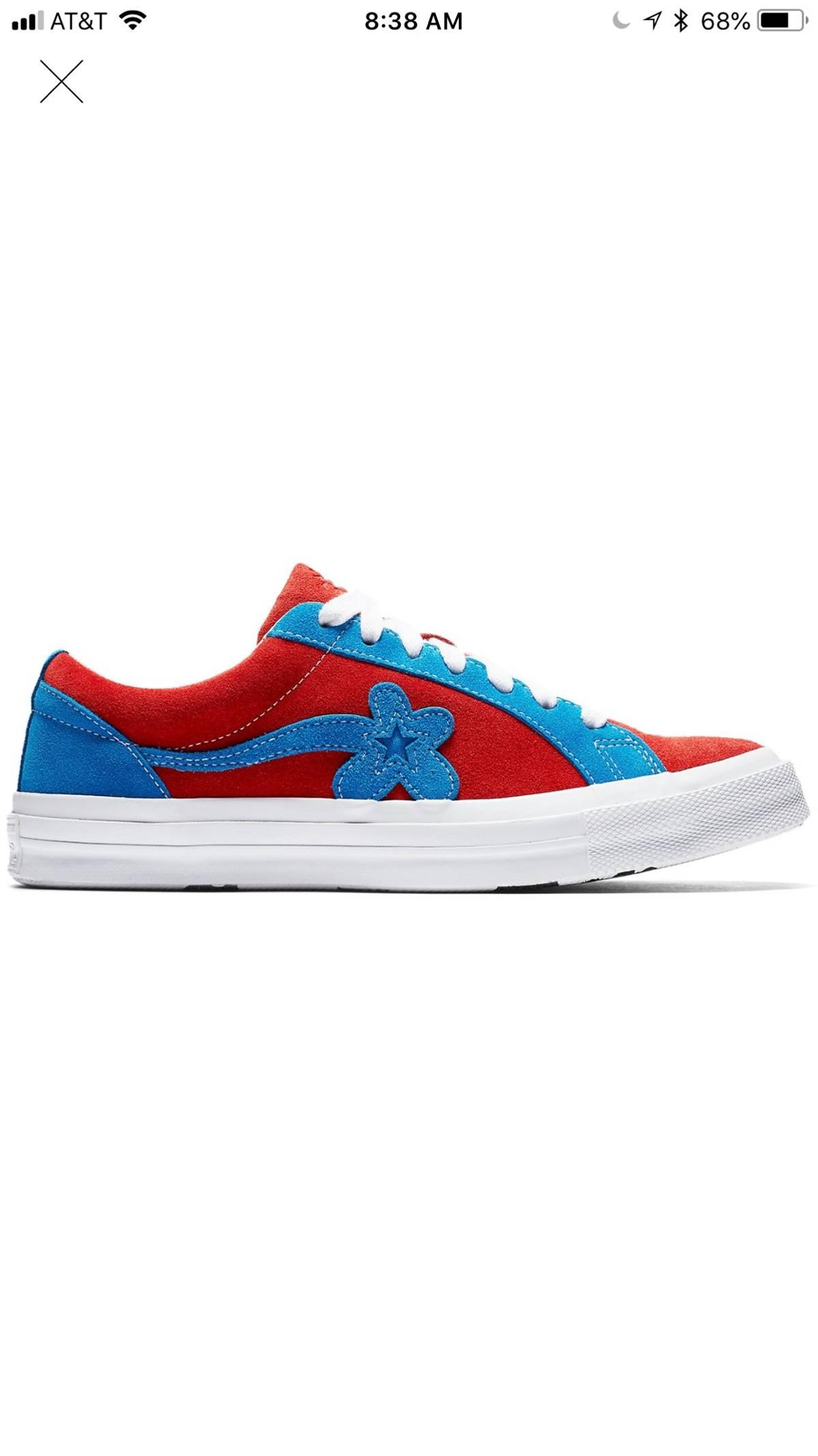 Converse Converse X Golf Le Fleur Red Blue Grailed