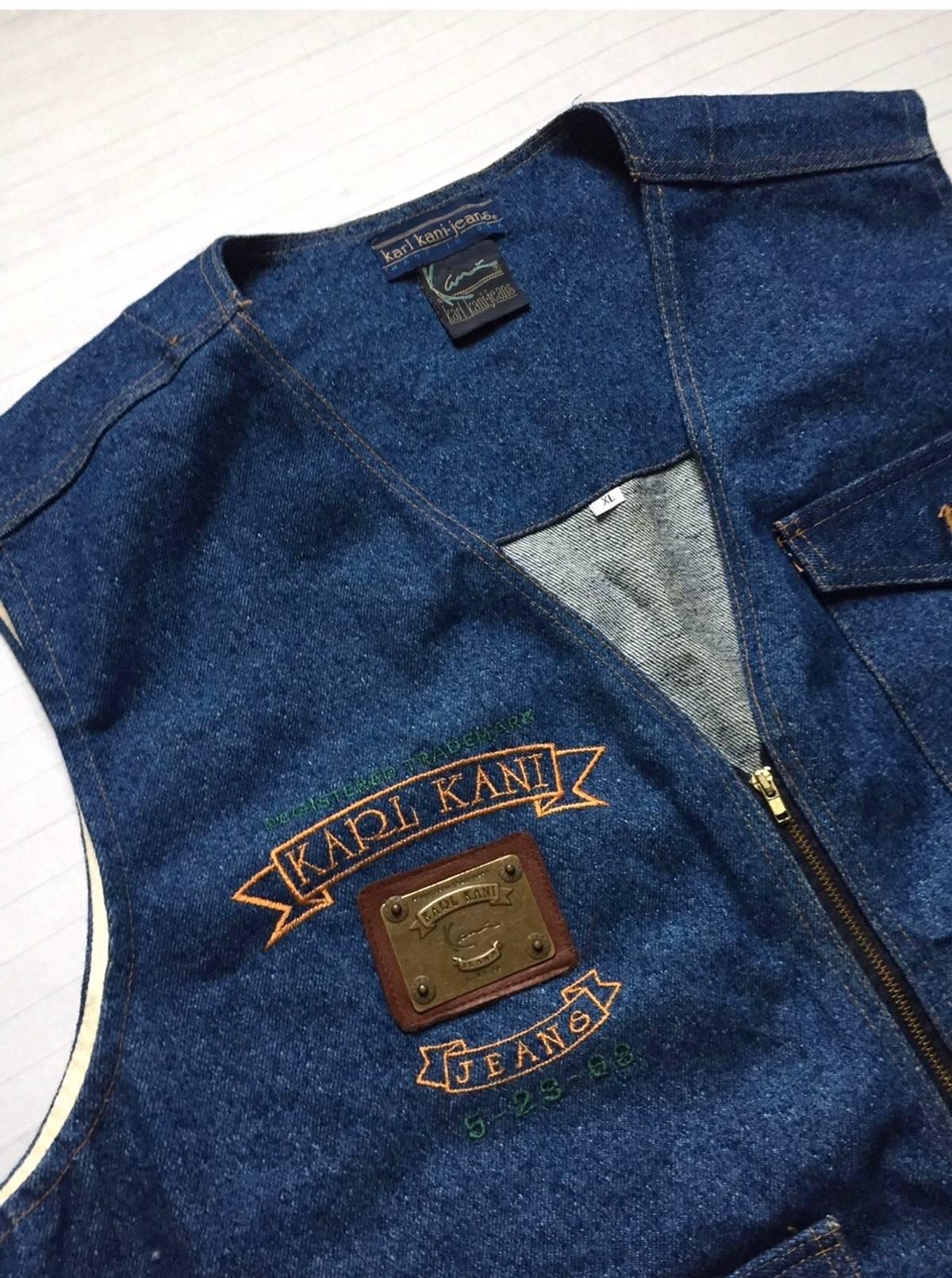 Karl Kani Denim all-over print shorts in blue hip hop vtg
