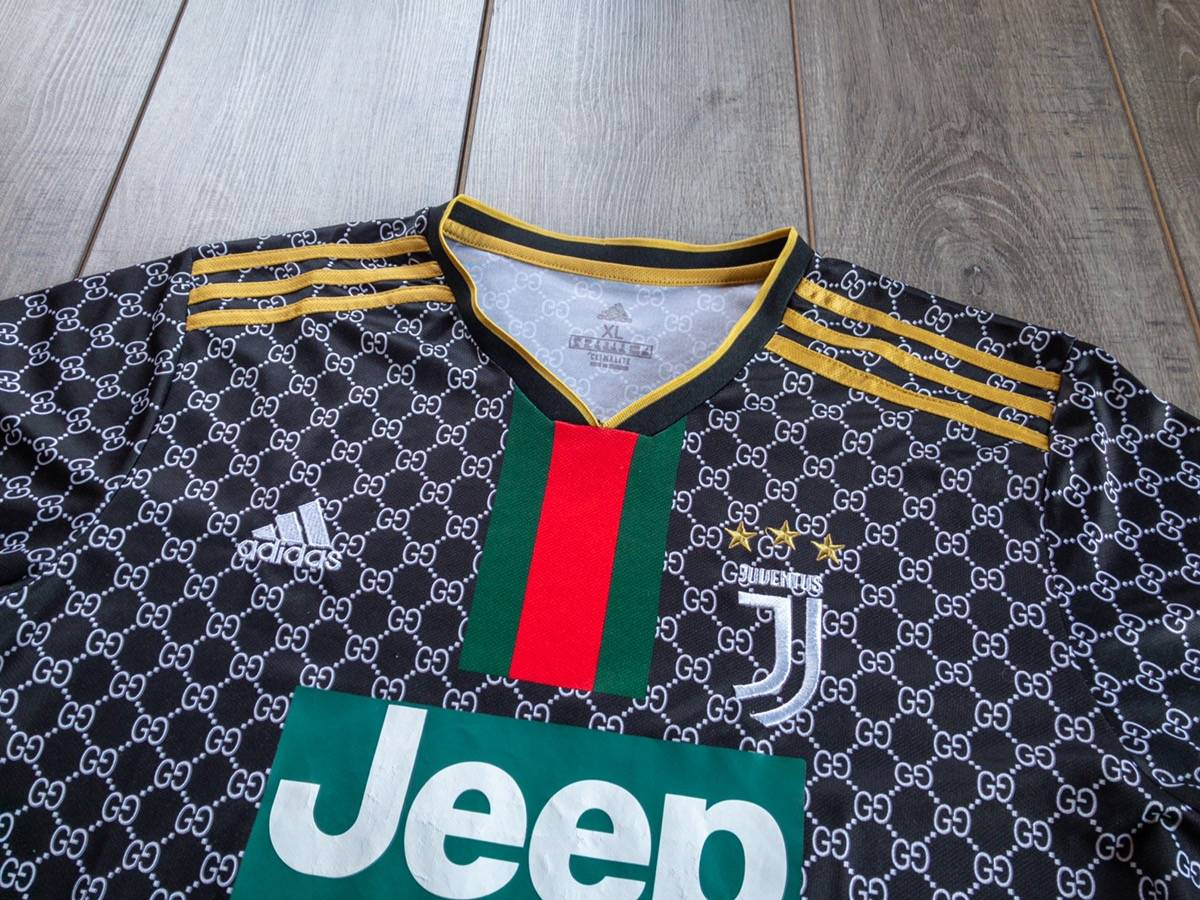 Adidas Adidas Juventus Jeep Gucci Monogram Collection Jersey Grailed