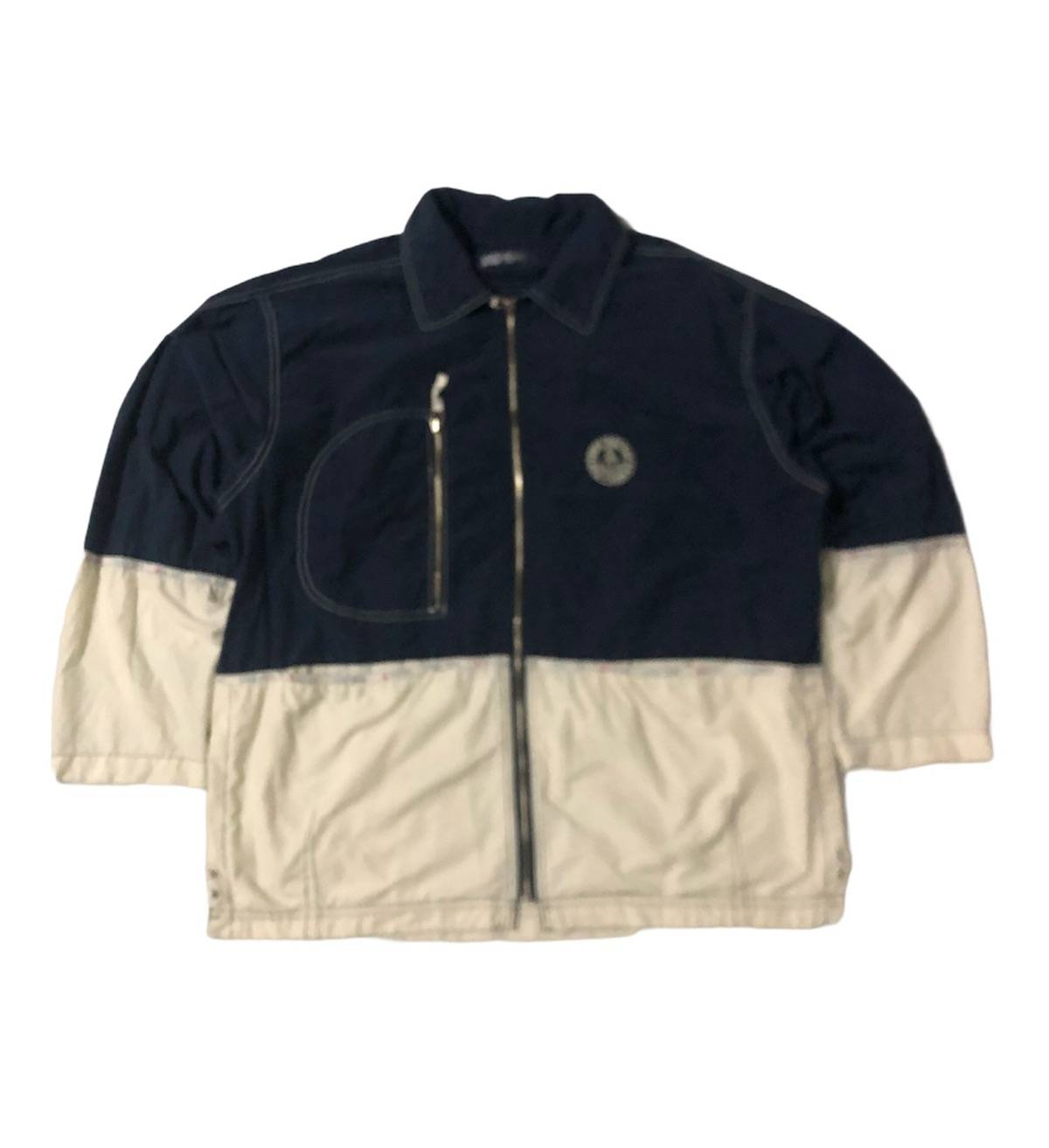 Naf Naf Green Zip Up Light Jacket  Sports Fashion 90/'s Style  Women/'s Size EUUS SM  cigesshop  SALE