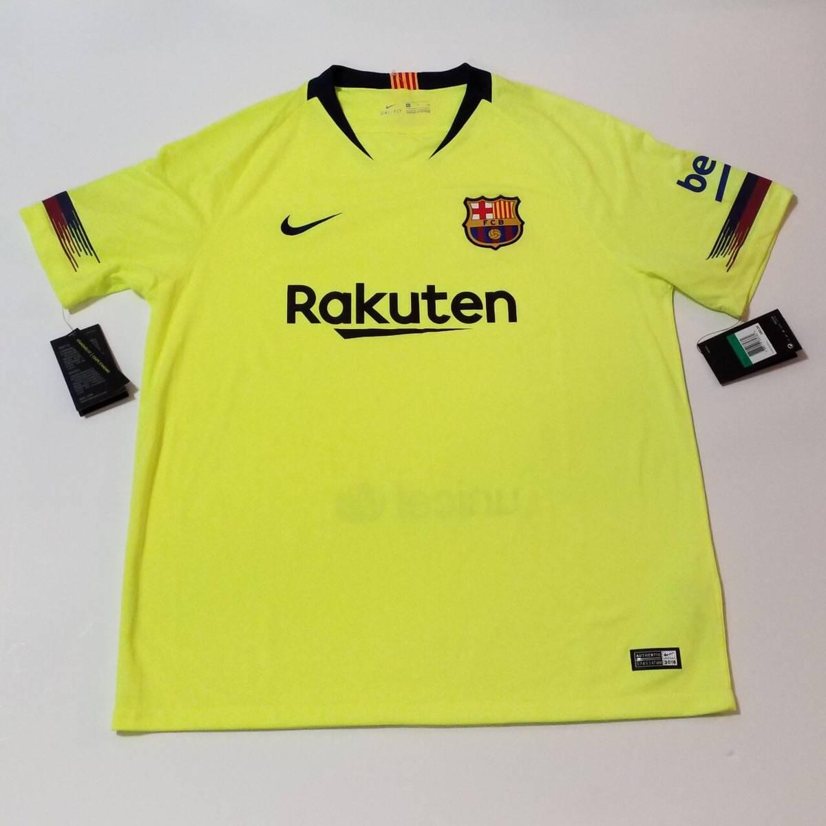 Nike Barcelona Fc Nike Neon Soccer Jersey Grailed