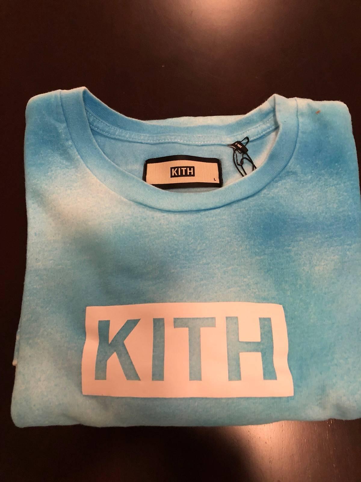 Kith Kith Tie Dye Box Logo Tee Grailed