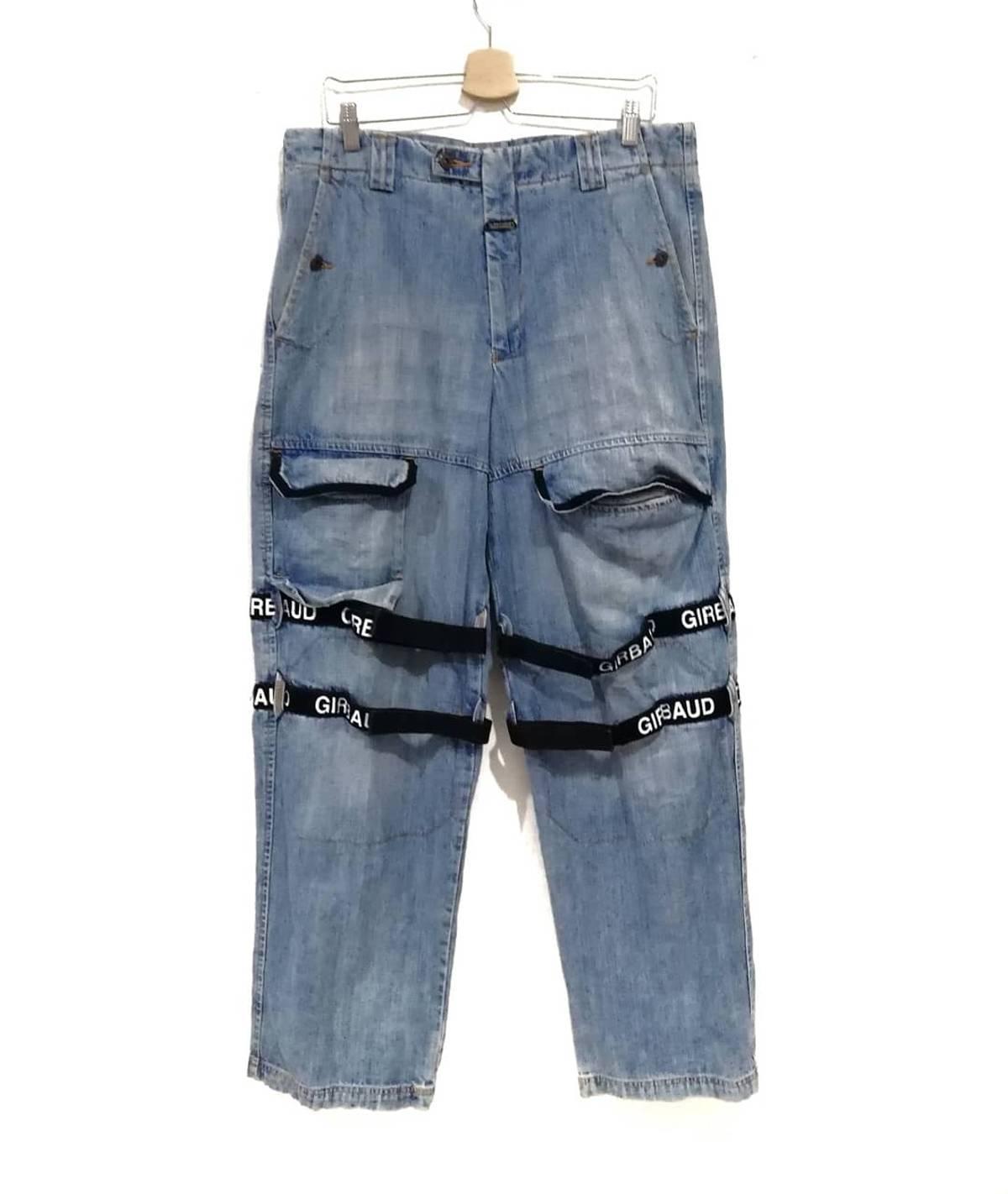 Vintage Vintage 90s Marithe Francois Girbaud Tapered Jeans Beige Grailed