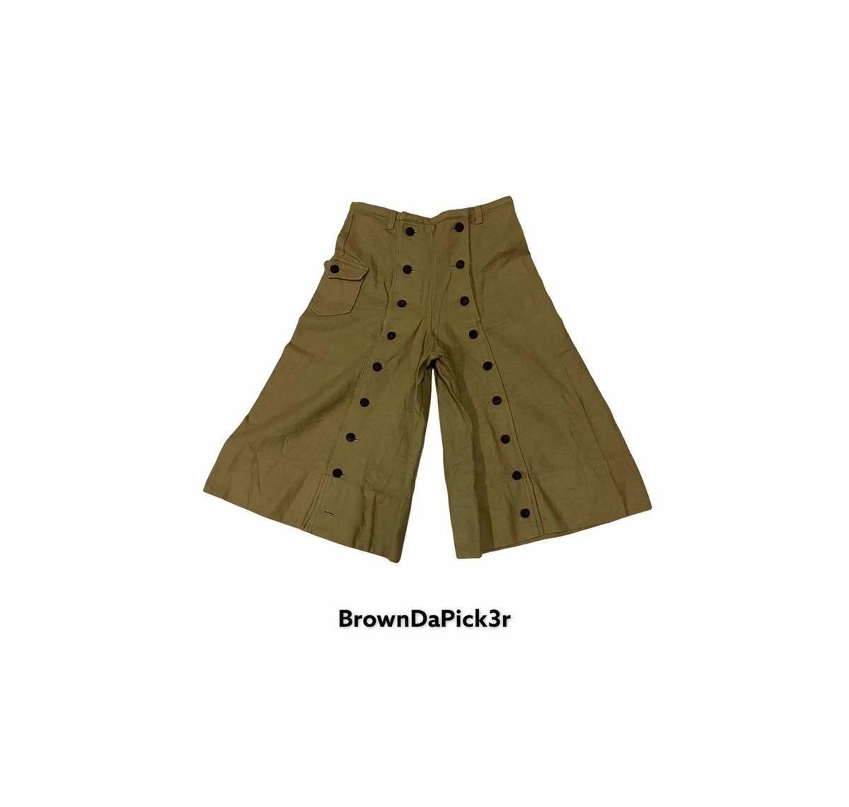 Vintage Beams Boy cropped Pants Trousers