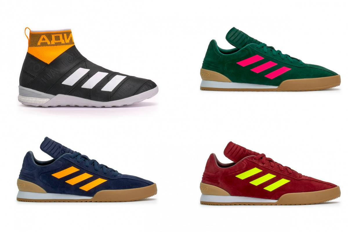 GOSHA RUBCHINSKY Leather Sneakers Spring/summer adidas