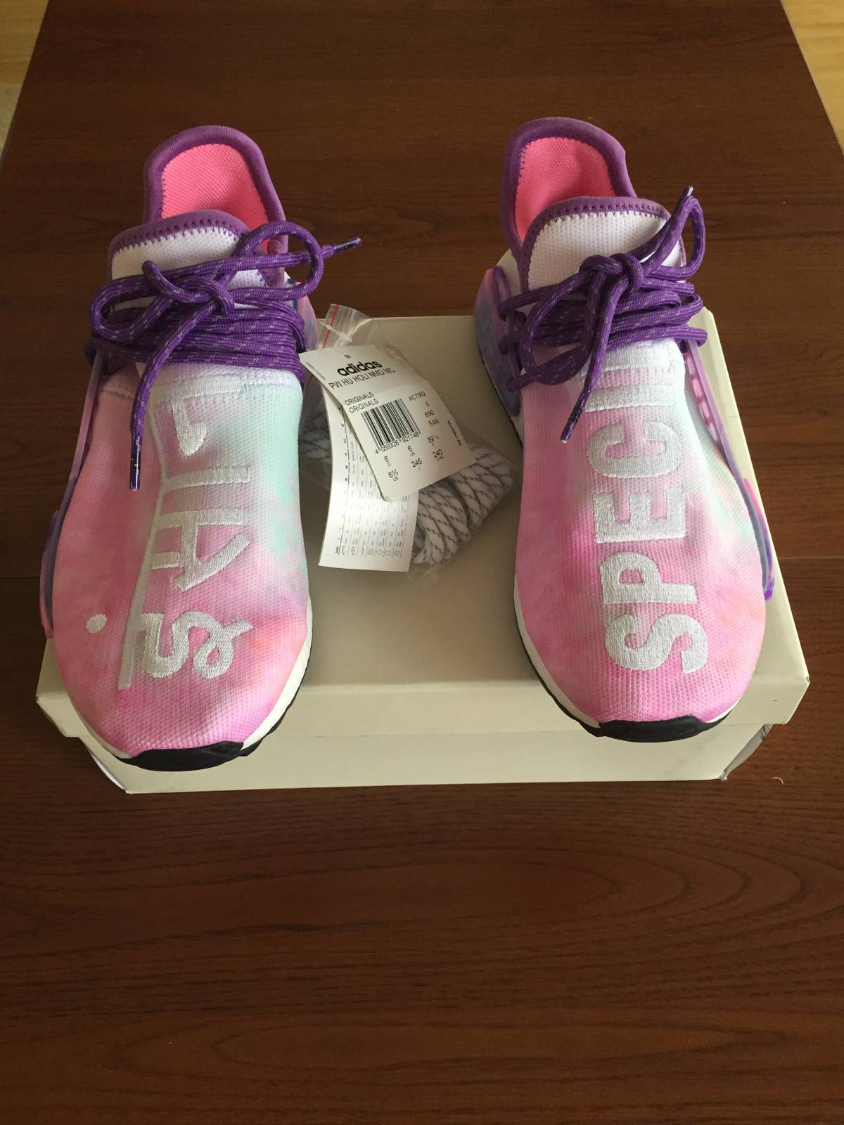 Adidas Adidas Pharrell Nmd Human Race Holi Festival Pink Glow